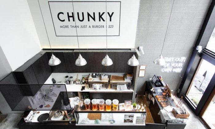 Chunky ร้านเบอร์เกอร์ใส้แน่นพร้อมแป้งคราฟต์บันนุ่มหนึบที่หอมกรุ่นจากเตาทุกวัน