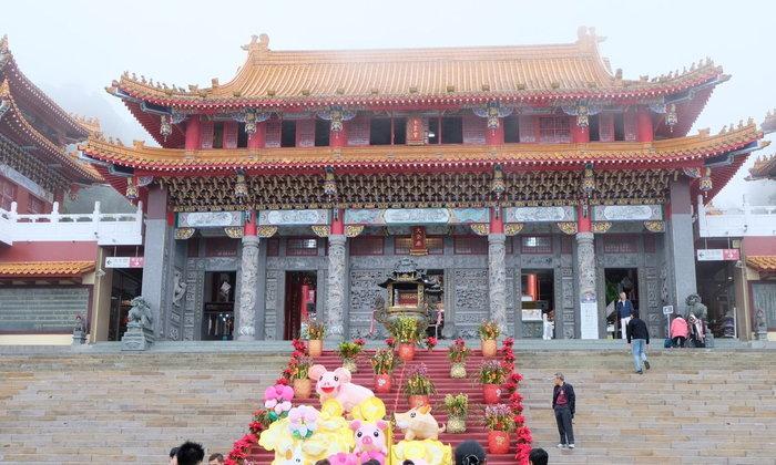 ไทเป ไต้หวัน EP 2 วัดเหวินหวู่ (Wen Wu Temple)