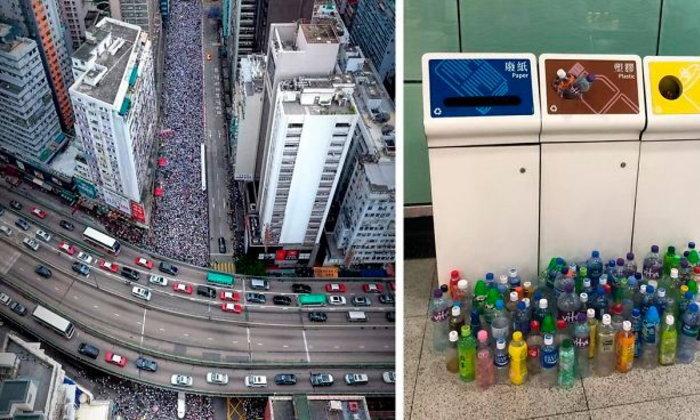 10 ภาพการประท้วงของชาวฮ่องกง! ที่แสดงให้เห็นว่าพวกเขามีระเบียบวินัยมากแค่ไหน!