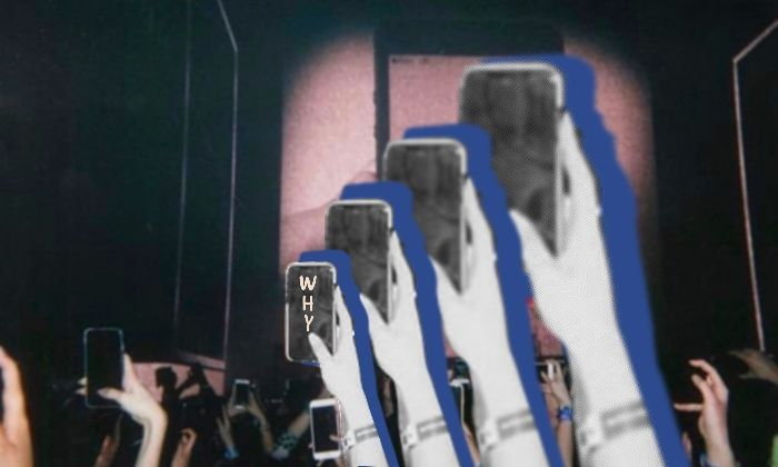 """""""มาดูคอนเสิร์ตหรือมาหาคลิปลงไอจี?"""" ใครบางคนได้กล่าวไว้"""