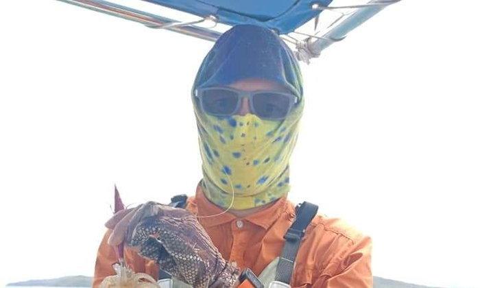 ทริปตกปลาหมึกที่สัตหีบ