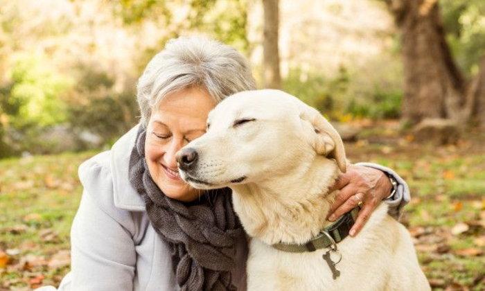 การเป็นเจ้าของสัตว์เลี้ยงมีประโยชน์กับผู้สูงอายุ