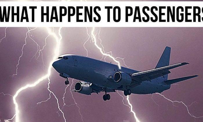 จะเกิดอะไรขึ้นถ้าฟ้าผ่าใส่เครื่องบินที่กำลังบินอยู่บนท้องฟ้า??