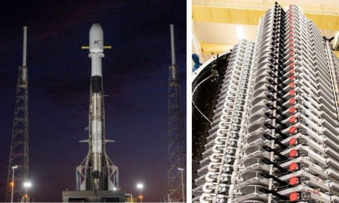 SpaceX ประสบความสำเร็จในการปล่อยดาวเทียมอีก 60 ดวงเพื่อเสริมโครงข่าย Starlink