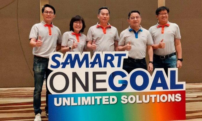 """""""กลุ่มสามารถ"""" เดินหน้าใช้กลยุทธ์ """"Unlimited Solutions"""" หลังพลิกฟื้นและวางรากฐานธุรกิจใหม่ ตั้งเป้าปี 63 มีรายได้รวม 20,000 ล้านบาท"""