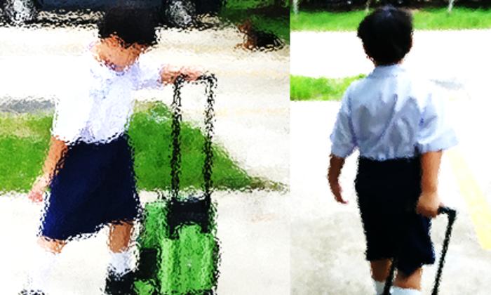 ความแตกต่างของโรงเรียนประถมในไทยกับอังกฤษ ตอนที่ 1 กระเป๋าหนัก ๆ ของลูกตัวเล็ก ๆ