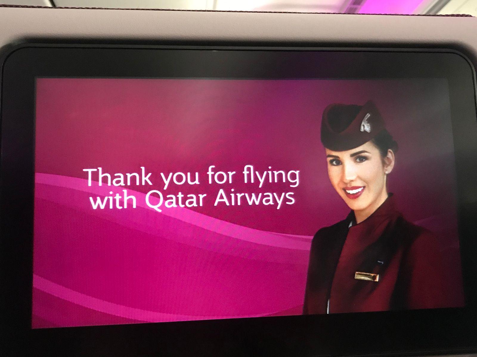 Review สายการบิน Qatar ไปอเมริกา