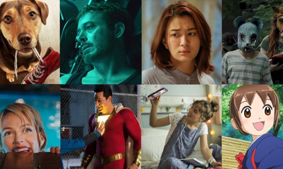 รวม 10 หนังใหม่น่าดูประจำเดือนเมษายน 2019