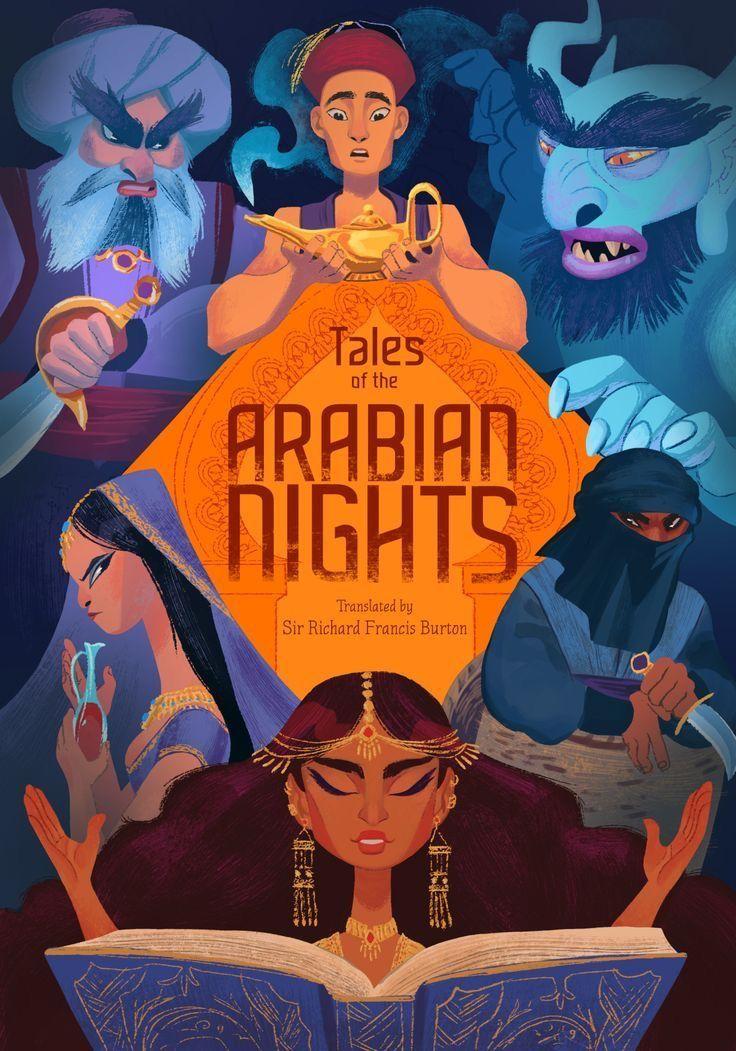 Arabian nights:พันหนึ่งราตรี [ที่มาของการ์ตูนอาหรับชื่อดังหลายเรื่อง]