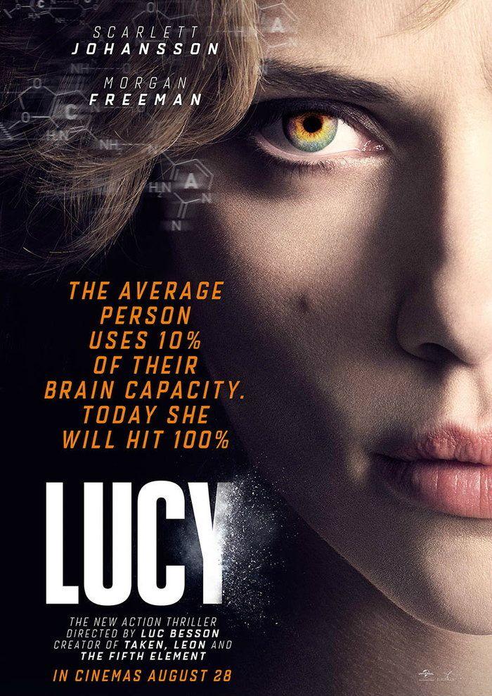 Lucy สวยพิฆาต จะเป็นอย่างไรถ้าคุณใช้สมองได้ 100%