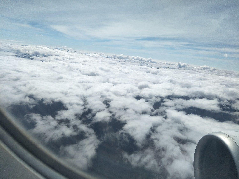 ใต้ปีกเครื่องบินมีดวงตาแอนดีส