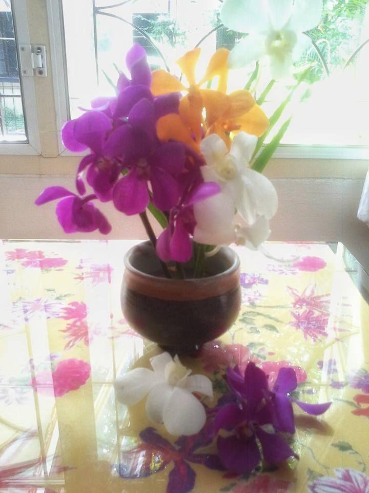 ดอกไม้ในแจกัน