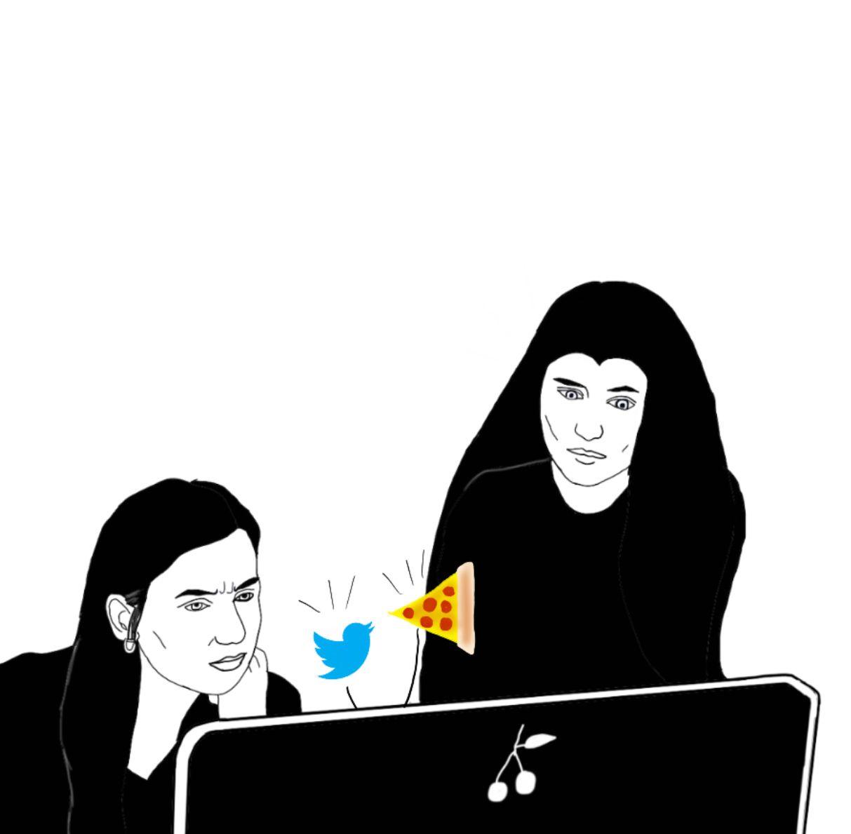 Twitter vs Pizza