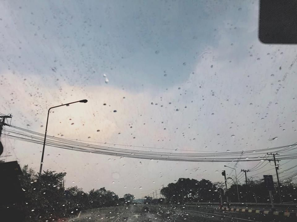Rain and lonely