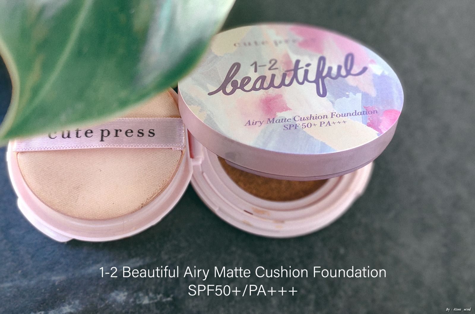 1-2 Beautiful Airy Matte Cushion Foundation SPF 50+ PA+++