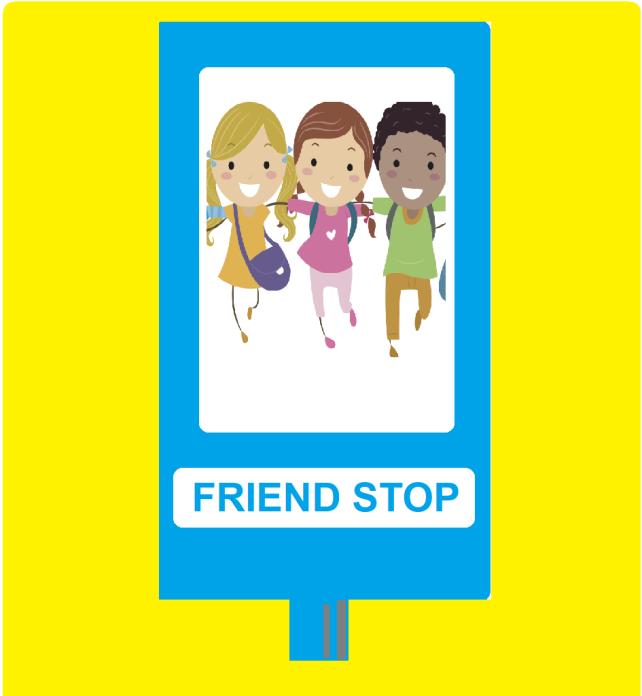 ความแตกต่างของโรงเรียนประถมในไทยกับอังกฤษ ตอนที่ 2 Friend Stop ใครอยากมีเพื่อนมาป้ายนี้
