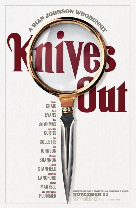 Knives Out ฆาตกรรมหรรษา ฆาตกรก็คือ!.... (รีวิวไม่สปอยล์)