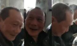 ลุงชาวจีนสุดแปลก กินเผ็ดนิดเดียว ควันลอยออกจากหัว