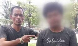 พ่อเลี้ยงโหดจับลูก 6 ขวบ ฟาดพื้นปางตาย มารับทราบข้อหา