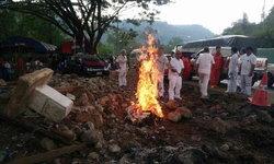 ทำบุญใหญ่โค้งมรณะรถทัวร์ 18 ศพ ร่างทรงพบ 86 ดวงวิญญาณ