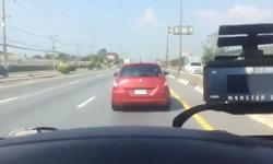 ดราม่าหนัก คลิปเก๋งสีแดงไม่หลบรถฉุกเฉิน ล่าสุดผู้ป่วยเสียชีวิตแล้ว