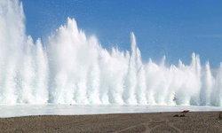 จีนระเบิดแม่น้ำมังกรดำ เปิดทางน้ำไหล ป้องกันอุทกภัย