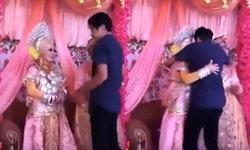 เจ้าสาวถูกบังคับแต่งงานกับชายอื่น กอดแฟนหนุ่มร้องไห้จนเป็นลมบนเวที