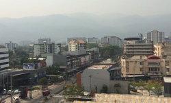 ดอยสุเทพเลือนหาย วิกฤตฝุ่นละอองเชียงใหม่ PM10 พุ่งทะลุ 122