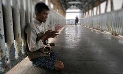 หนุ่มขอทานสะอื้น พิการยังโดนปล้น สวมชื่อโกงเงินสงเคราะห์คนจน