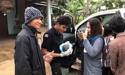 หัวหน้าวิเชียร-จนท.ป่าไม้ ช่วยทำคลอดเด็กกลางทาง ก่อนไปพบตำรวจ