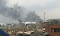 """ประกาศด่วน การบินไทยยกเลิกเที่ยวบิน """"กาฐมาณฑุ-กรุงเทพฯ"""" ออกไปไม่มีกำหนด"""