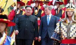 ประมวลภาพประวัติศาสตร์ ผู้นำสองเกาหลีพบปะเจรจาสันติภาพ
