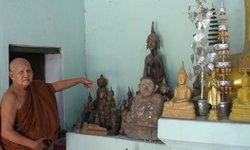 โจรใจบาป คนร้ายลักพระพุทธรูปไม้เก่าแก่กว่า 100 ปี ประเมินค่าไม่ได้