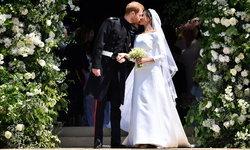 ประมวลภาพพิธีเสกสมรสเจ้าชายแฮร์รี่ เมแกน มาร์เคิล สวยงามดุจเทพนิยาย