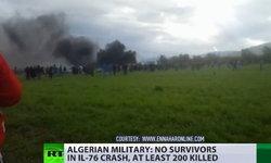 เครื่องบินทหารแอลจีเรีย ตกหลังทะยานขึ้นฟ้าไม่นาน ดับทะลุ 250 ศพ