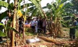 พ่อเฒ่าป่วยอัมพาตครึ่งซีก ยิงตัวตายคาสวน คาดเครียดเป็นภาระลูกหลาน