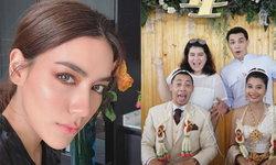 """งานแต่งพี่ชาย """"คิมเบอร์ลี่"""" บรรยากาศสุดอบอุ่น โรแมนติกริมทะเล"""