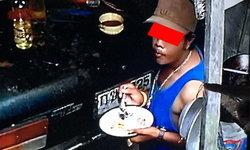 โจรหิวโซ ขโมยกินข้าว 2 จานล้างเก็บให้เรียบร้อย ก่อนยกเค้าเกลี้ยง