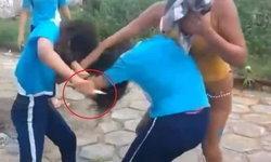 อึ้ง แม่บราซิลยื่นมีดให้ลูกสาวตบตีกับเพื่อน แถมยืนเชียร์ไม่ห่าง