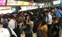 เสียแทบทุกวัน! รถไฟฟ้า BTS สัญญาณขัดข้อง ผู้โดยสารล้นรับวันจันทร์