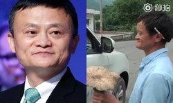 """แชร์ว่อนโซเชียลจีน พบคนขายเห็ดหน้าเหมือน """"แจ็คหม่า"""""""