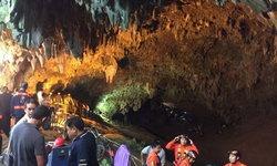 ยุติหา 13 คนติดถ้ำหลวงชั่วคราว หลังน้ำเพิ่มระดับสูงขึ้น