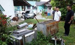 โจรอาละวาดขโมยหม้อแปลงสถานีสูบน้ำ เดือดร้อน 100 กว่าครัวเรือน