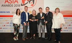 คิง เพาเวอร์ คว้า 3 รางวัลจากเวที DFNI Asia Awards 2018