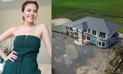 """""""จ๊ะ อาร์สยาม"""" สวยและรวยมาก ใช้เงินสดกว่า 10 ล้าน ปลูกบ้านหรูกลางนา"""