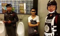 โร่แจ้งความ! พบหนุ่มอ้างเป็นตร. ติดกล้องแอบถ่ายในห้องน้ำชายสนามฟุตบอล