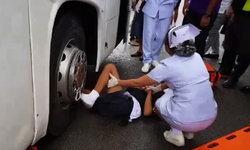 โซเชียลด่ายับ รถบัสเฉี่ยวเด็ก ม.2 เลือดนองพื้น โชเฟอร์ทิ้งรถ-ไม่คิดช่วย