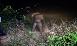 เจ้าของบ้านสารภาพ ลากศพเปลือยหนุ่มถูกไฟช็อตตายทิ้งร่องน้ำสวนปาล์ม
