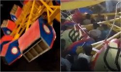 เครื่องเล่นสวนสนุกเปิดใหม่ในปากีสถานพังถล่ม เด็กดับคาที่ 1 เจ็บอีกมาก
