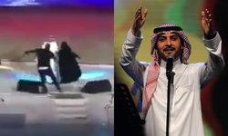 ตำรวจซาอุฯ จับสาวใจเด็ด ท้าทายข้อห้ามศาสนา วิ่งขึ้นไปกอดนักร้องชายบนเวที